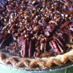 Maple Pecan Pie with Bourbon & Bacon